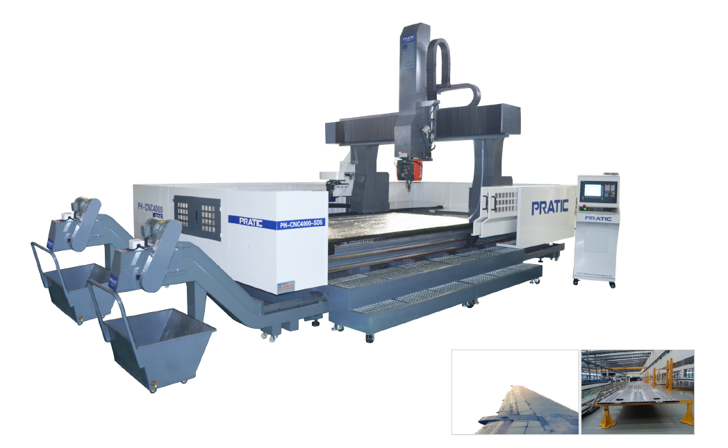 PHB - CNC4500 - SD5 Pratic CNC Machine