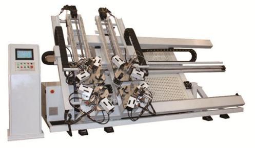 Máy ép góc  4 đầu tự động CNC LJZJ4S - 100 * 1800 * 3000